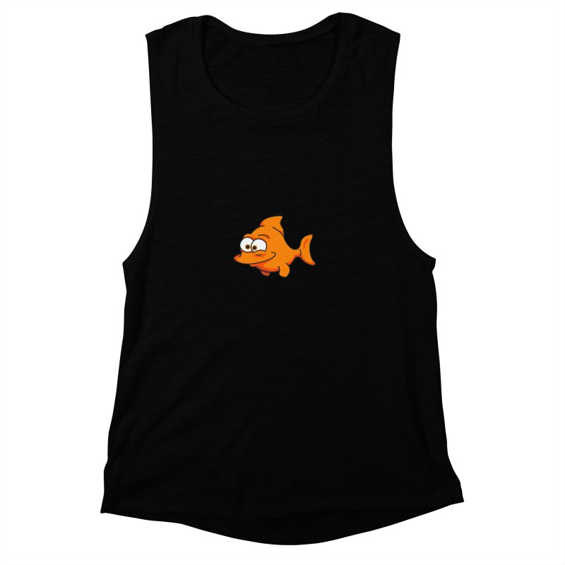 Goldfish Women's Muscle Tank by yobann's Artist Shop