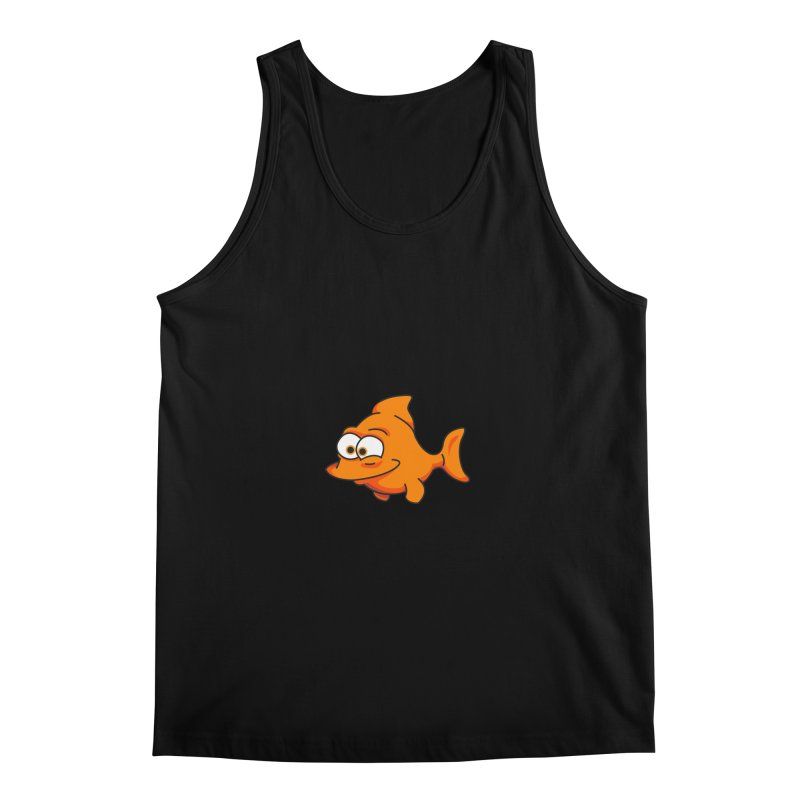 Goldfish Men's Tank by yobann's Artist Shop
