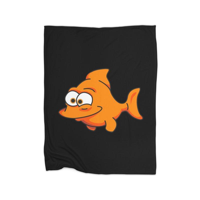 Goldfish Home Blanket by yobann's Artist Shop