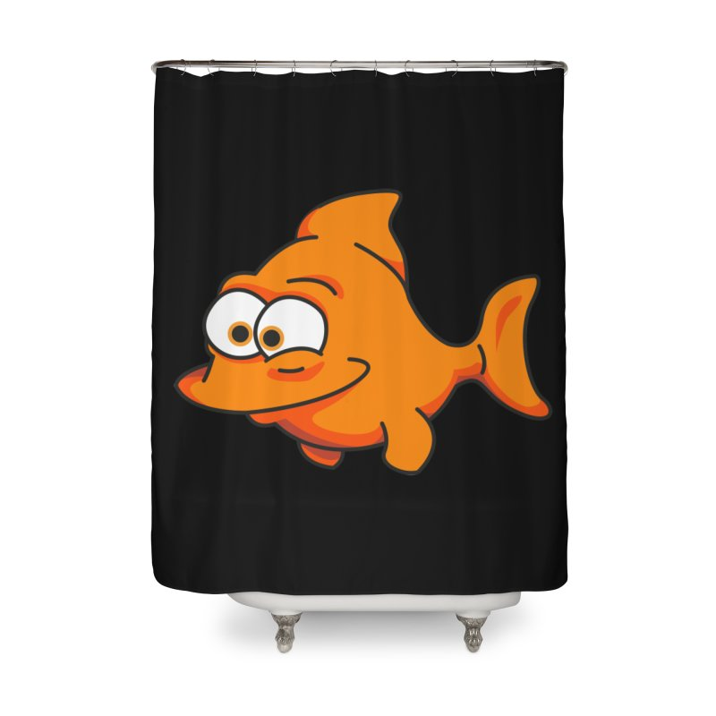 Goldfish Home Shower Curtain by yobann's Artist Shop