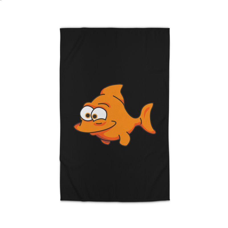 Goldfish Home Rug by yobann's Artist Shop