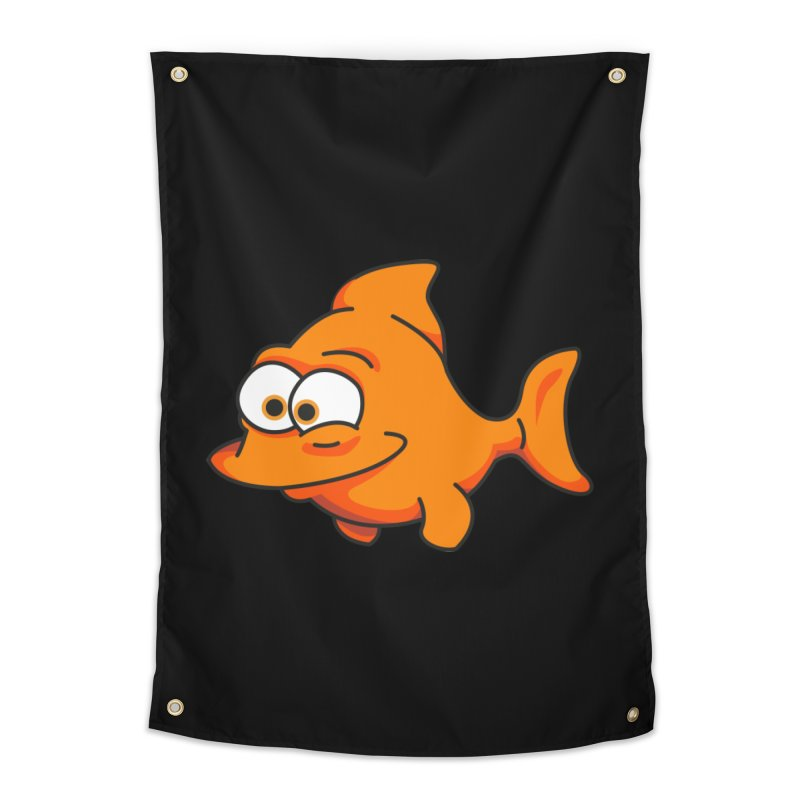 Goldfish Home Tapestry by yobann's Artist Shop