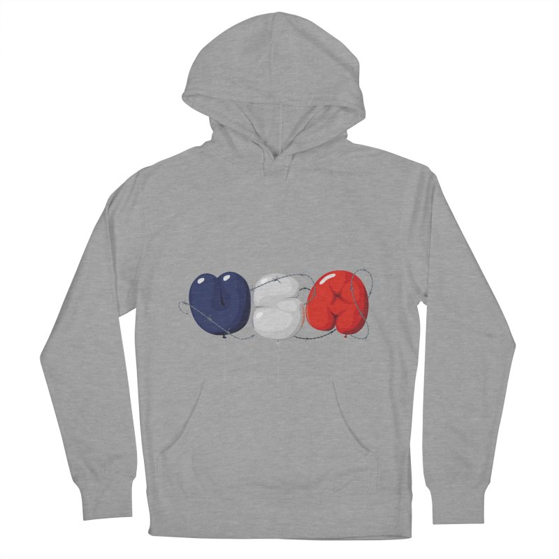 USA Women's Pullover Hoody by yobann's Artist Shop
