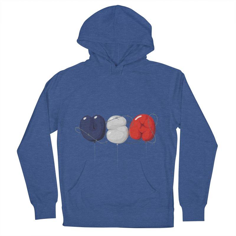 USA Men's Pullover Hoody by yobann's Artist Shop