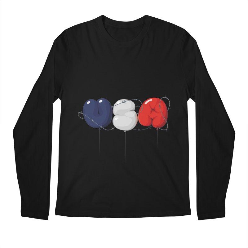 USA Men's Longsleeve T-Shirt by yobann's Artist Shop