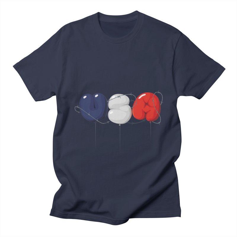 USA Men's T-Shirt by yobann's Artist Shop