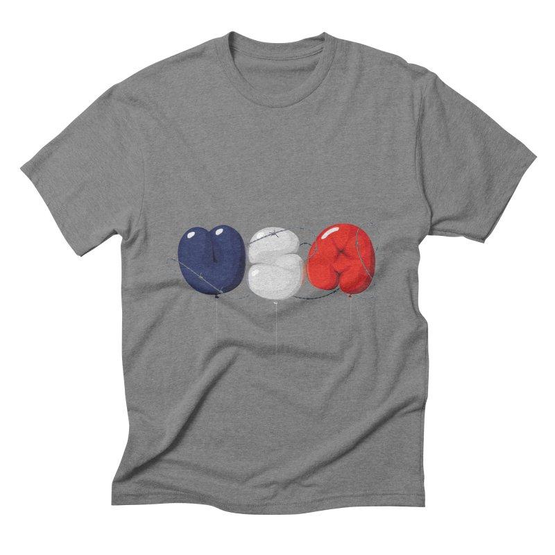 USA Men's Triblend T-shirt by yobann's Artist Shop