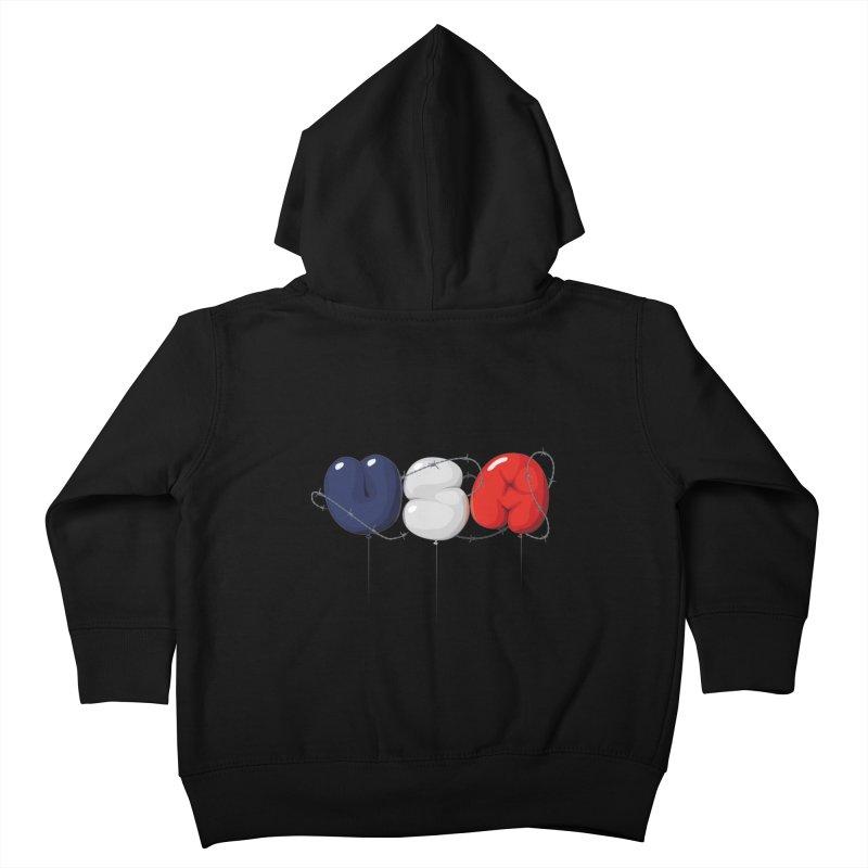 USA Kids Toddler Zip-Up Hoody by yobann's Artist Shop