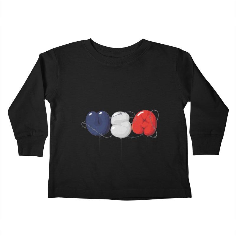 USA Kids Toddler Longsleeve T-Shirt by yobann's Artist Shop