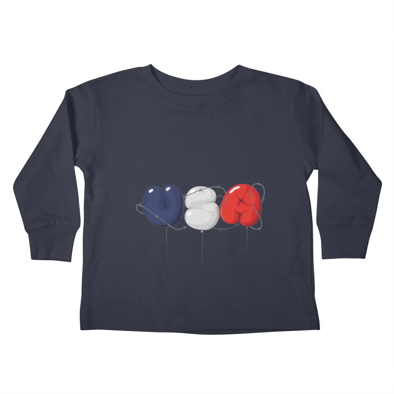 USA Kids Toddler Longsleeve T-Shirt by yobann's Artist Shop