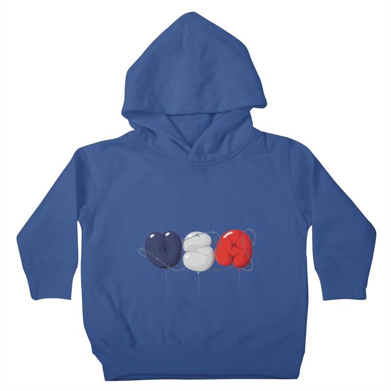 USA Kids Toddler Pullover Hoody by yobann's Artist Shop