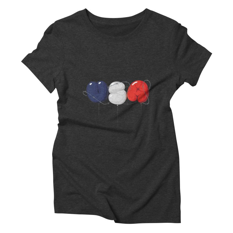 USA Women's Triblend T-Shirt by yobann's Artist Shop