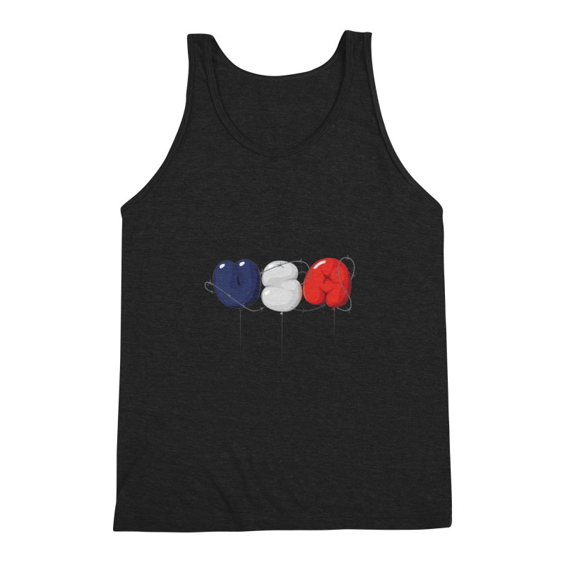 USA Men's Triblend Tank by yobann's Artist Shop