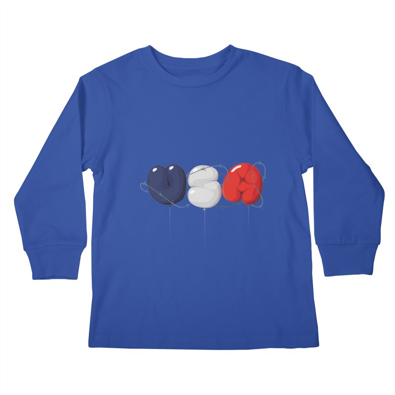 USA Kids Longsleeve T-Shirt by yobann's Artist Shop