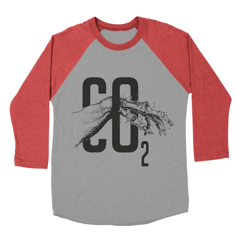 CO2 Women's Baseball Triblend T-Shirt by yobann's Artist Shop
