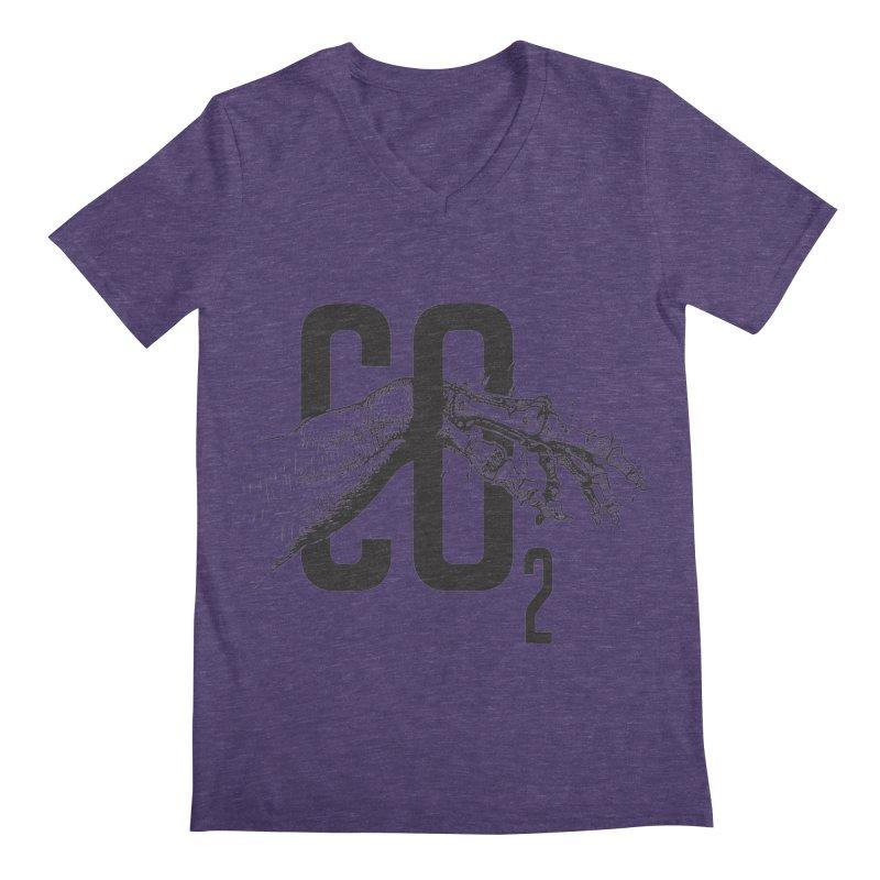 CO2 Men's V-Neck by yobann's Artist Shop