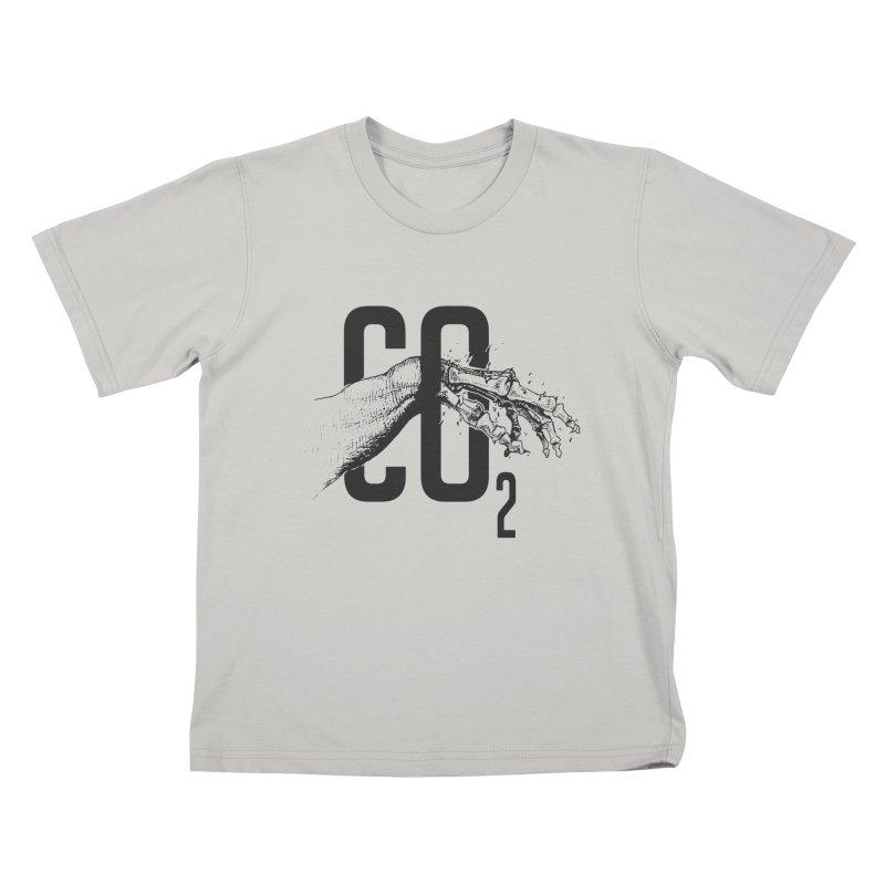 CO2 Kids T-Shirt by yobann's Artist Shop