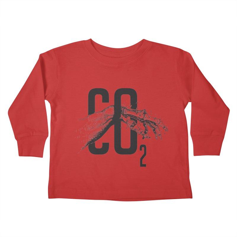 CO2 Kids Toddler Longsleeve T-Shirt by yobann's Artist Shop