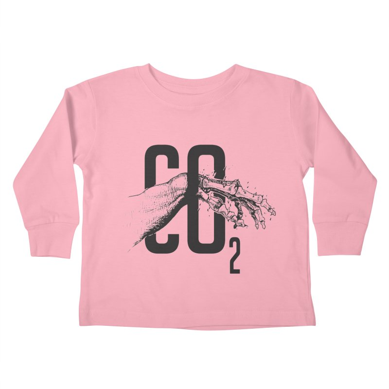 CO2 Kids Toddler Longsleeve T-Shirt by yobann's Artist Shop