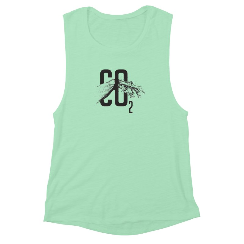 CO2 Women's Muscle Tank by yobann's Artist Shop