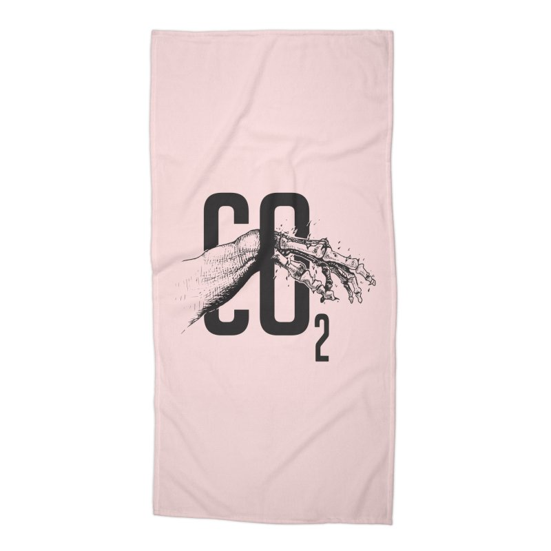 CO2 Accessories Beach Towel by yobann's Artist Shop