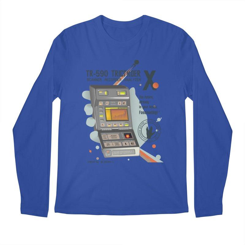 Tricorder Men's Longsleeve T-Shirt by yobann's Artist Shop