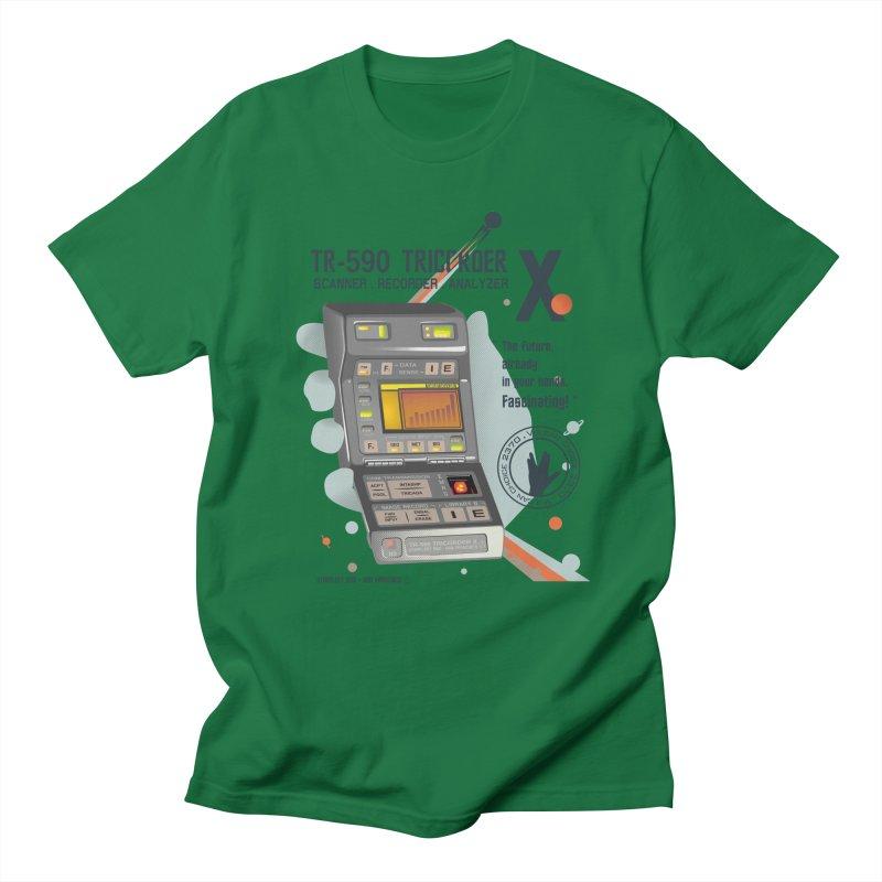 Tricorder Men's T-shirt by yobann's Artist Shop