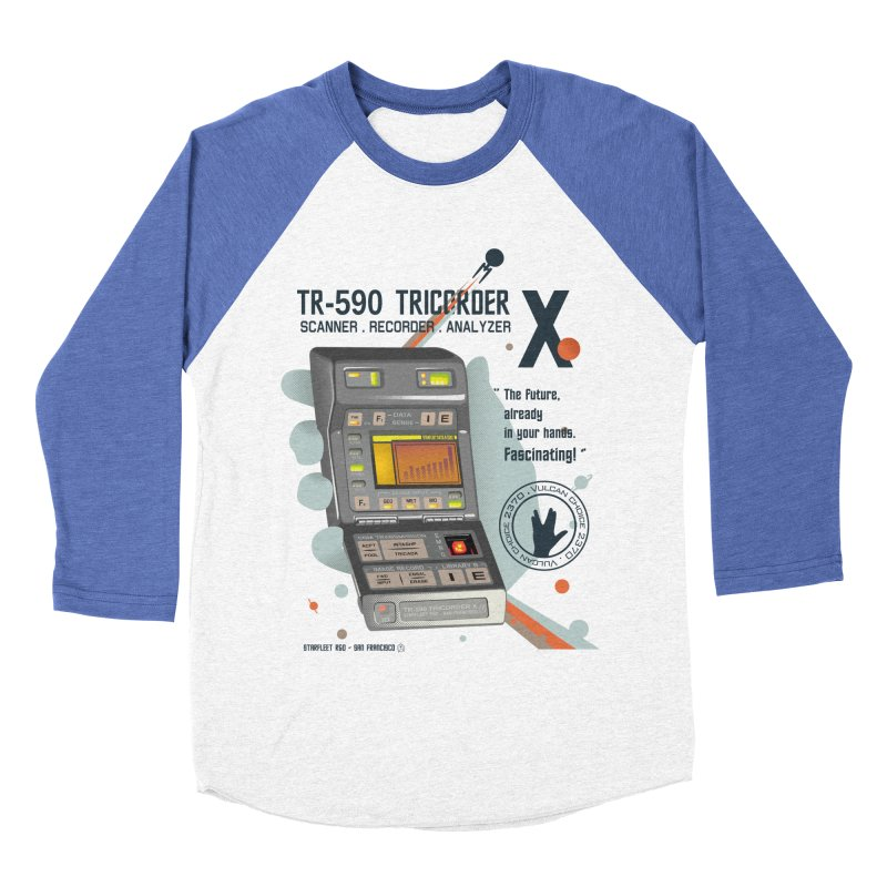 Tricorder Women's Baseball Triblend T-Shirt by yobann's Artist Shop