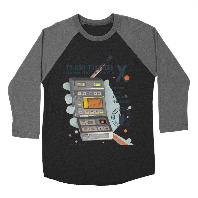 Tricorder Men's Baseball Triblend T-Shirt by yobann's Artist Shop