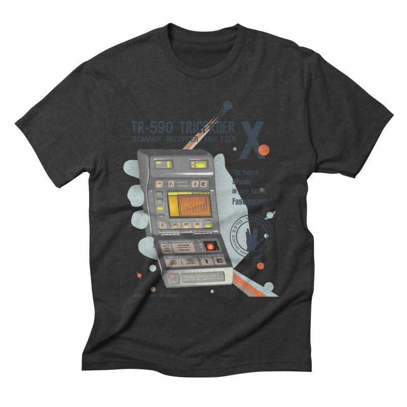Tricorder Men's Triblend T-shirt by yobann's Artist Shop