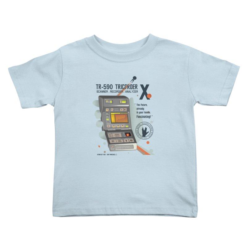 Tricorder Kids Toddler T-Shirt by yobann's Artist Shop