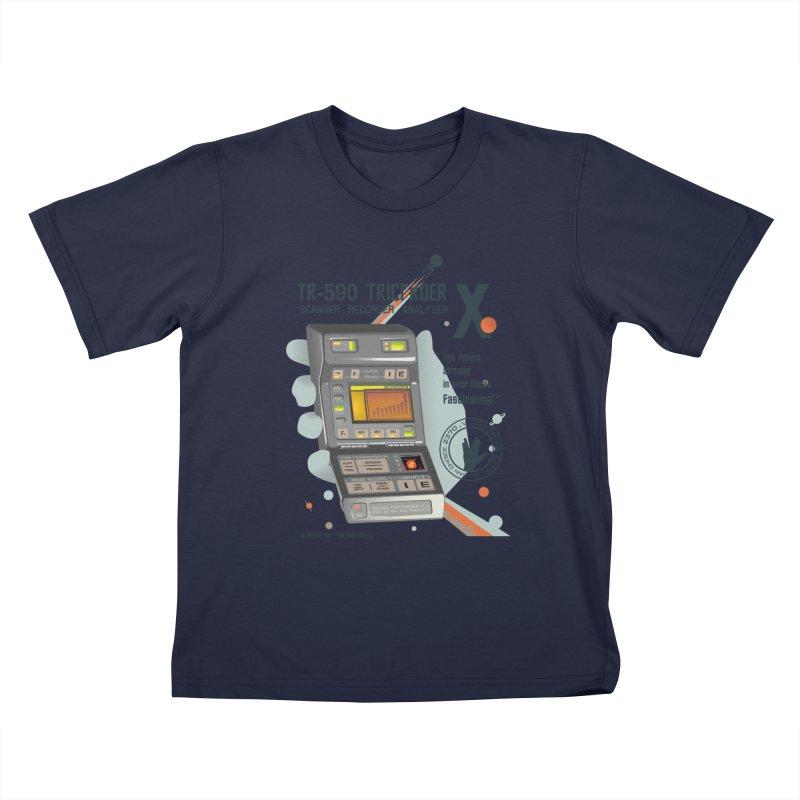 Tricorder Kids T-Shirt by yobann's Artist Shop