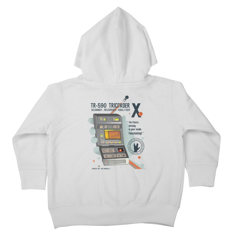 Tricorder Kids Toddler Zip-Up Hoody by yobann's Artist Shop