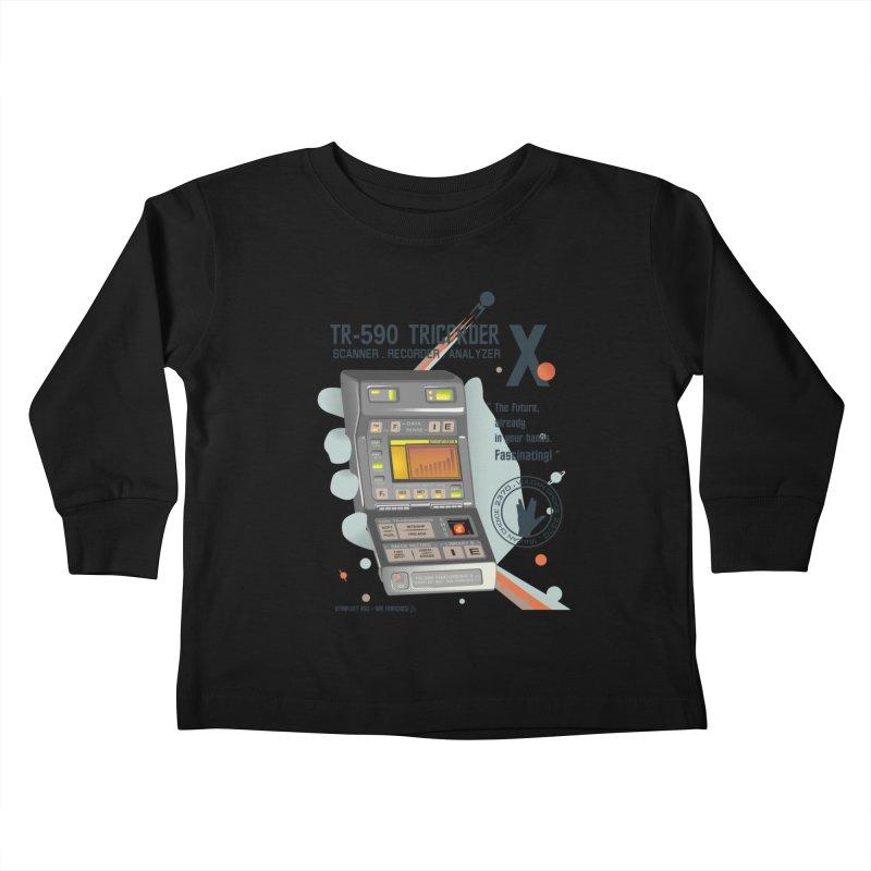 Tricorder Kids Toddler Longsleeve T-Shirt by yobann's Artist Shop