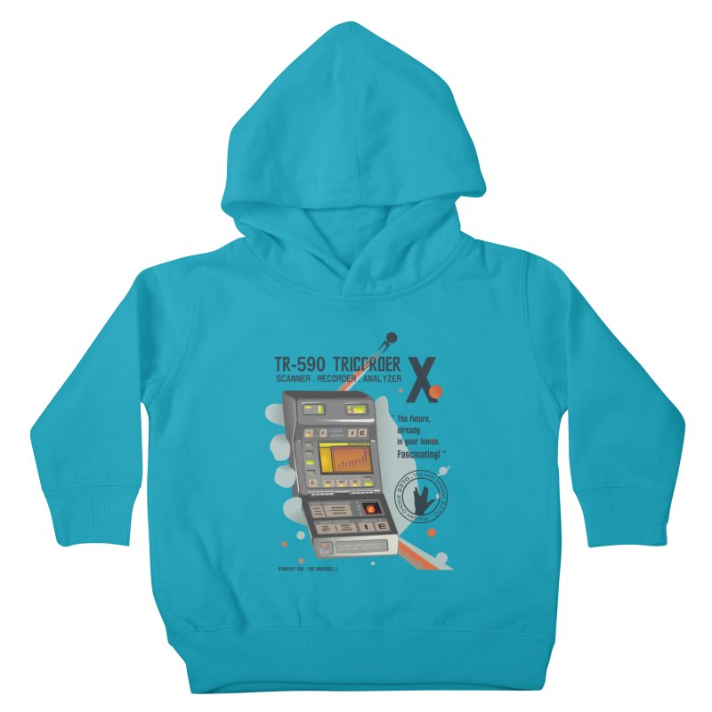 Tricorder Kids Toddler Pullover Hoody by yobann's Artist Shop