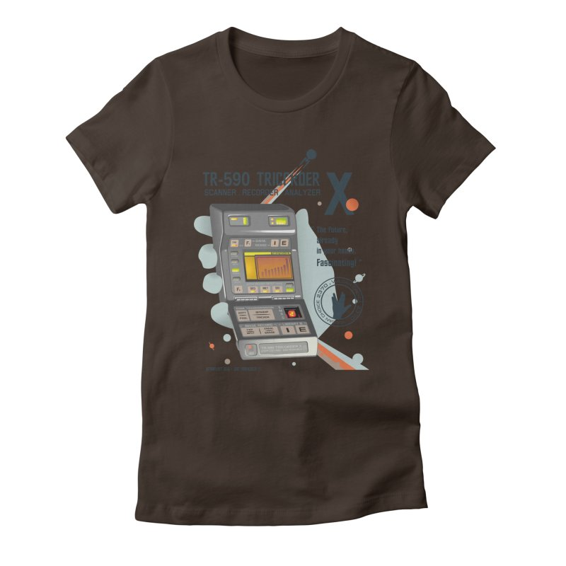 Tricorder Women's Fitted T-Shirt by yobann's Artist Shop
