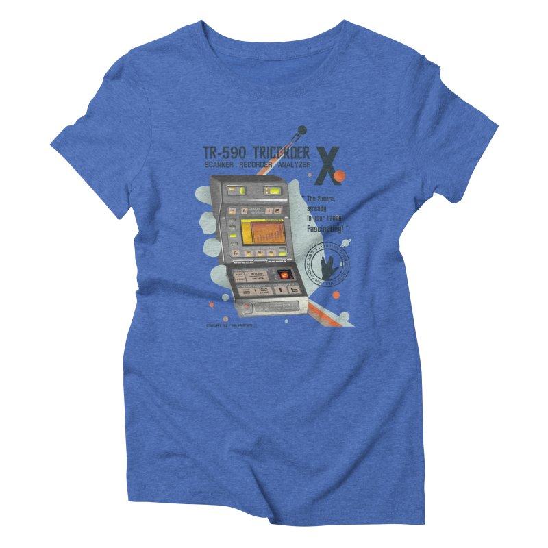 Tricorder Women's Triblend T-Shirt by yobann's Artist Shop