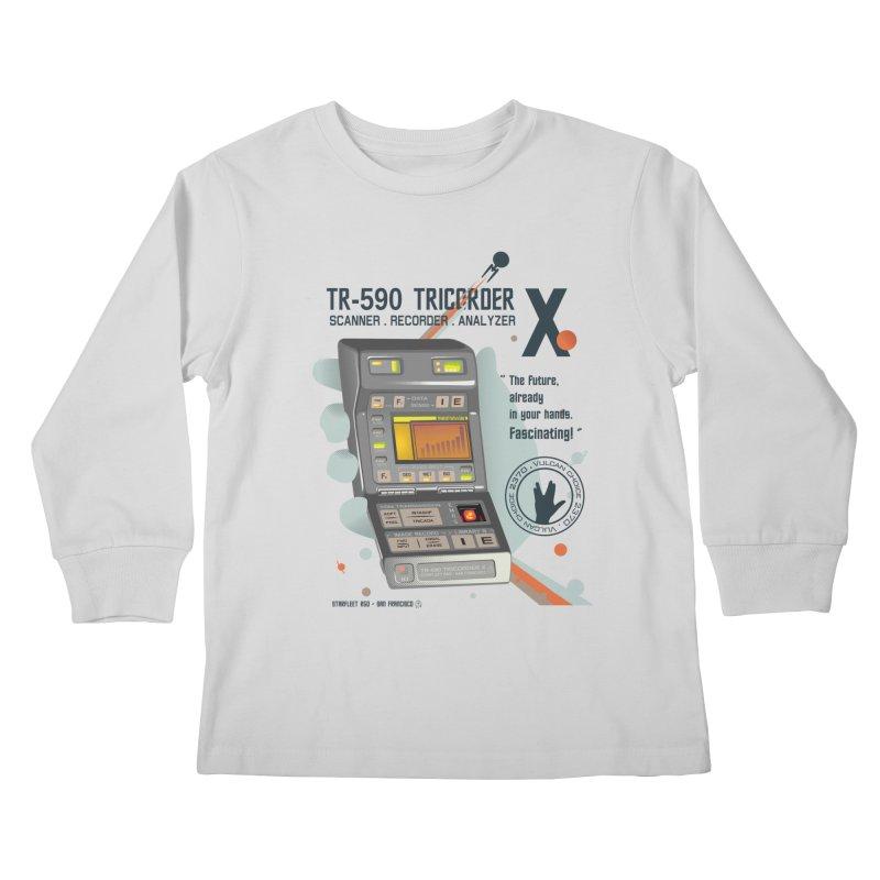 Tricorder Kids Longsleeve T-Shirt by yobann's Artist Shop