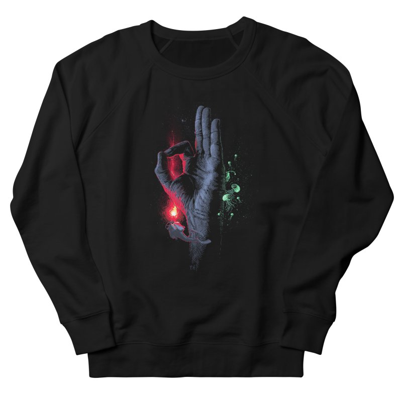 Underwater Men's Sweatshirt by yobann's Artist Shop