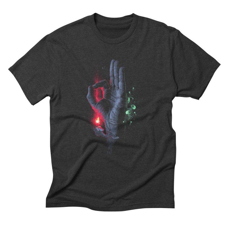 Underwater Men's Triblend T-shirt by yobann's Artist Shop