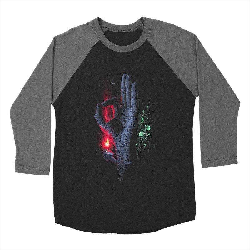 Underwater Men's Baseball Triblend T-Shirt by yobann's Artist Shop