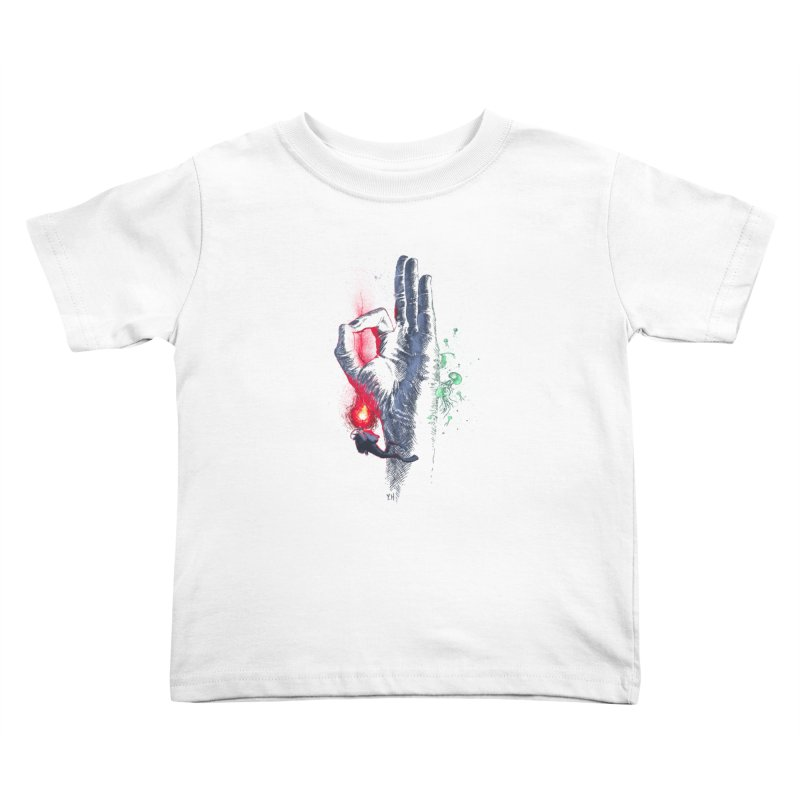 Underwater Kids Toddler T-Shirt by yobann's Artist Shop