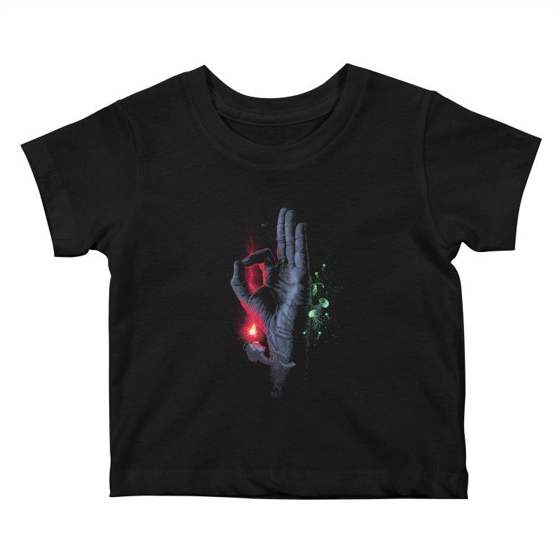 Underwater Kids Baby T-Shirt by yobann's Artist Shop