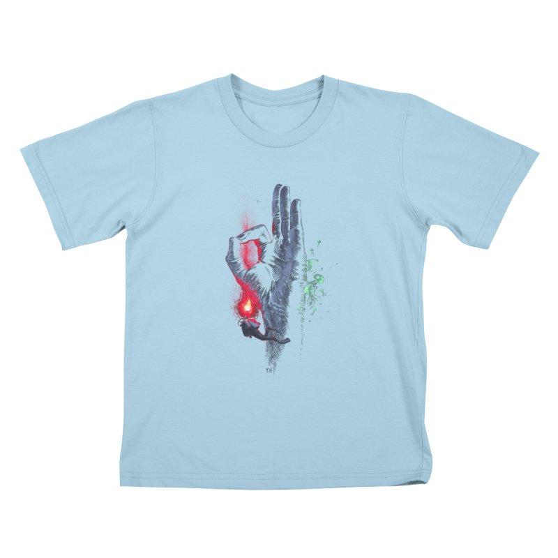 Underwater Kids T-Shirt by yobann's Artist Shop