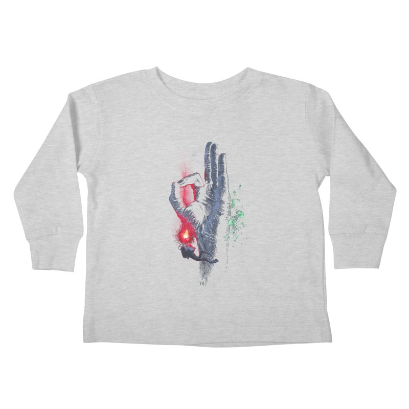 Underwater Kids Toddler Longsleeve T-Shirt by yobann's Artist Shop