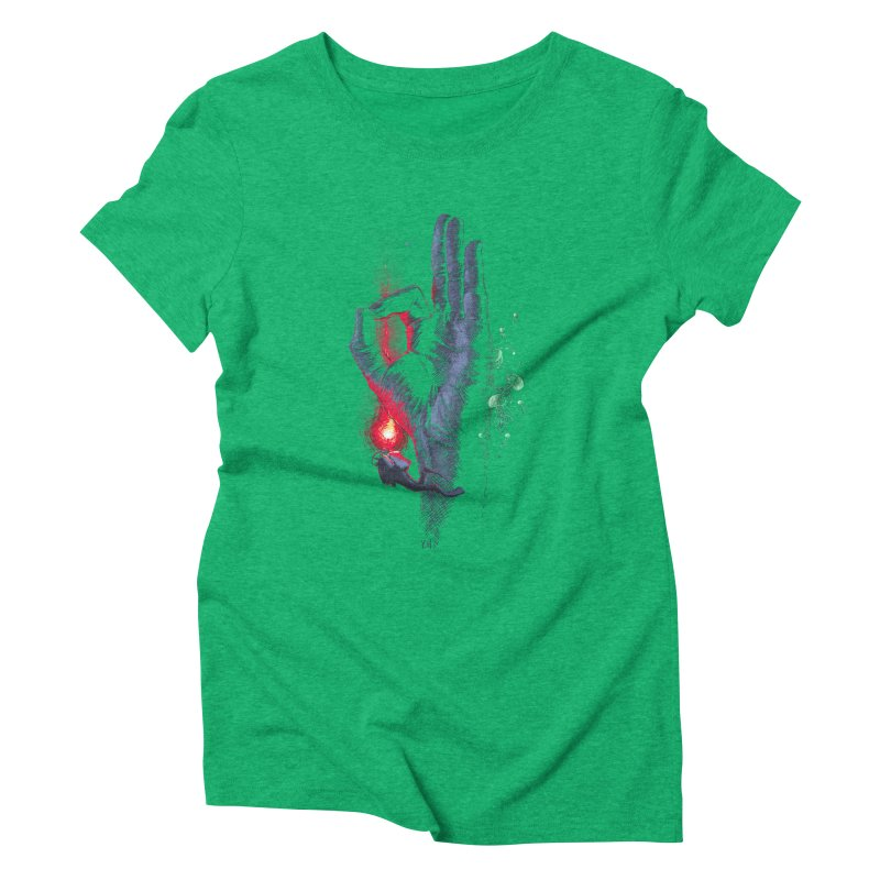 Underwater Women's Triblend T-shirt by yobann's Artist Shop