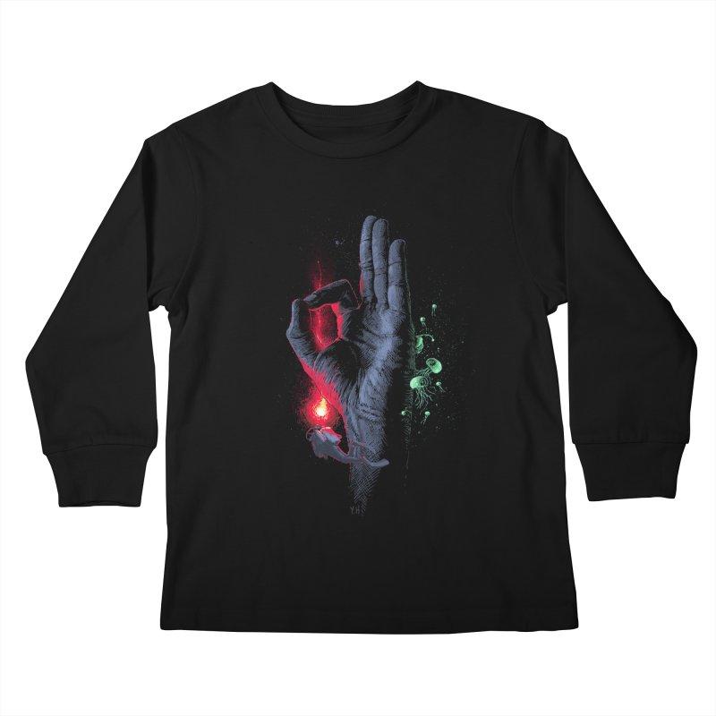 Underwater Kids Longsleeve T-Shirt by yobann's Artist Shop