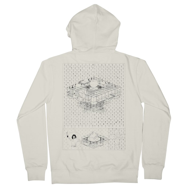 Caramantran Men's Zip-Up Hoody by yobann's Artist Shop