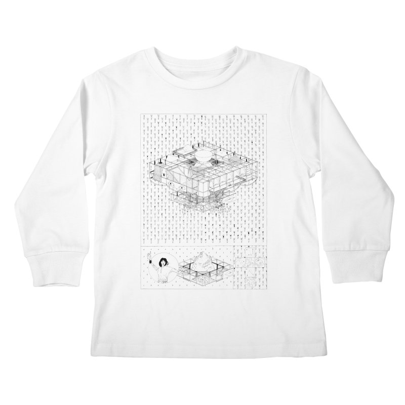 Caramantran Kids Longsleeve T-Shirt by yobann's Artist Shop