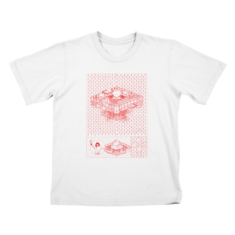 Caramantran Kids T-Shirt by yobann's Artist Shop